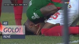 GOLO! Marítimo M., René aos 48', Marítimo M. 2-1 FC Famalicão