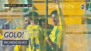GOLO! CD Tondela, Ricardo Alves aos 5', CD Tondela 1-0 Gil Vicente FC