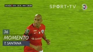 Santa Clara, Jogada, Thiago Santana aos 36'