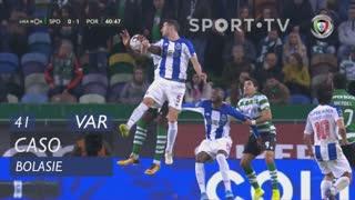 Sporting CP, Caso, Bolasie aos 41'
