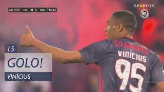 GOLO! SL Benfica, Vinícius aos 15', Gil Vicente FC 0-1 SL Benfica