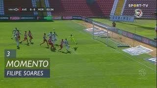 Moreirense FC, Jogada, Filipe Soares aos 3'