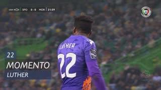 Moreirense FC, Jogada, Luther aos 22'