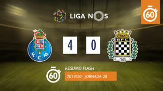 Liga NOS (28ªJ): Resumo Flash FC Porto 4-0 Boavista FC