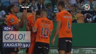 GOLO! Rio Ave FC, Filipe Augusto aos 90'+1', Sporting CP 2-3 Rio Ave FC