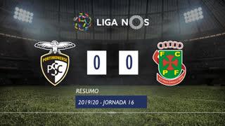 I Liga (16ªJ): Resumo Portimonense 0-0 FC P.Ferreira