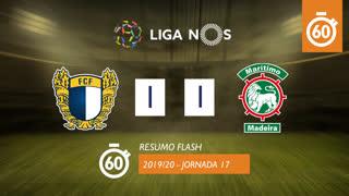Liga NOS (17ªJ): Resumo Flash FC Famalicão 1-1 Marítimo M.
