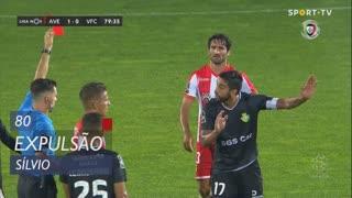Vitória FC, Expulsão, Sílvio aos 80'