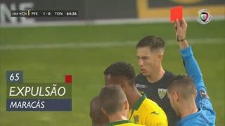FC P.Ferreira, Expulsão, Maracás aos 65'