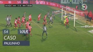 SC Braga, Caso, Paulinho aos 54'
