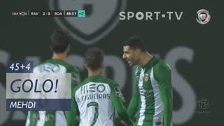 GOLO! Rio Ave FC, Mehdi aos 45'+4', Rio Ave FC 2-0 Boavista FC