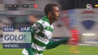 GOLO! Sporting CP, Wendel aos 45'+4', Gil Vicente FC 1-1 Sporting CP