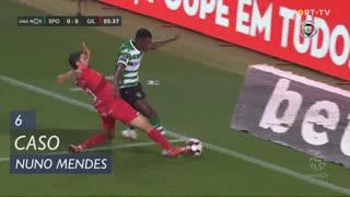 Sporting CP, Caso, Nuno Mendes aos 6'