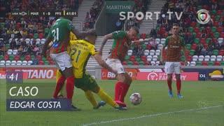 Marítimo M., Caso, Edgar Costa aos 41'