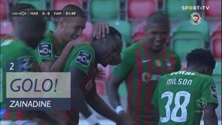GOLO! Marítimo M., Zainadine aos 2', Marítimo M. 1-0 FC Famalicão