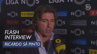 Liga (4ª): Flash Interview Ricardo Sá Pinto