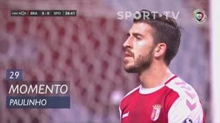 SC Braga, Jogada, Paulinho aos 29'