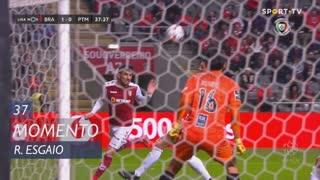 SC Braga, Jogada, Ricardo Esgaio aos 37'