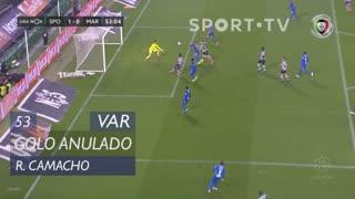 Sporting CP, Golo Anulado, Rafael Camacho aos 53'