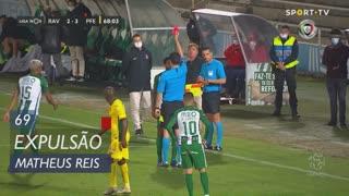 Rio Ave FC, Expulsão, Matheus Reis aos 69'