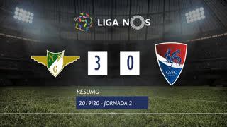 I Liga (2ªJ): Resumo Moreirense FC 3-0 Gil Vicente FC
