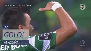 GOLO! Sporting CP, M. Acuña aos 32', Sporting CP 2-0 Vitória SC