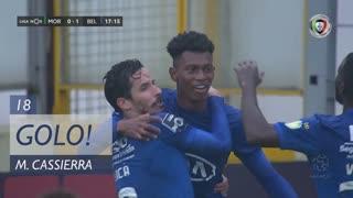 GOLO! Belenenses SAD, M. Cassierra aos 18', Moreirense FC 0-1 Belenenses SAD