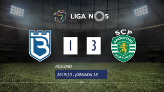 Liga NOS (28ªJ): Resumo Belenenses 1-3 Sporting CP