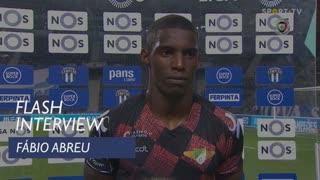"""Fábio Abreu: """"O que quero é ganhar jogos e fazer golos"""""""