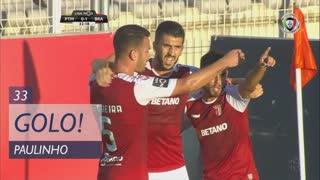 GOLO! SC Braga, Paulinho aos 33', Portimonense 0-1 SC Braga