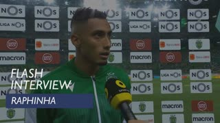 Liga (2ª): Flash Interview Raphinha