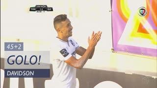GOLO! Vitória SC, Davidson aos 45'+2', CD Tondela 1-3 Vitória SC