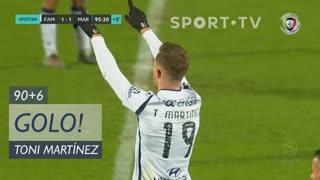 GOLO! FC Famalicão, Toni Martínez aos 90'+6', FC Famalicão 1-1 Marítimo M.