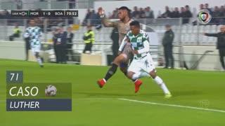 Moreirense FC, Caso, Luther aos 71'
