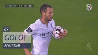 GOLO! Vitória SC, Bonatini aos 67', Sporting CP 2-1 Vitória SC