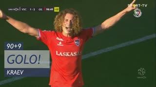GOLO! Gil Vicente FC, Kraev aos 90'+9', Vitória SC 1-2 Gil Vicente FC