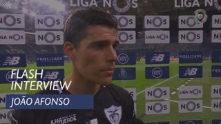 Liga (6ª): Flash Interview João Afonso