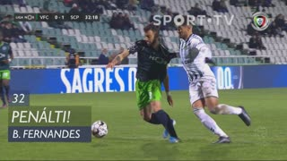 Sporting CP, Penálti, Bruno Fernandes aos 32'