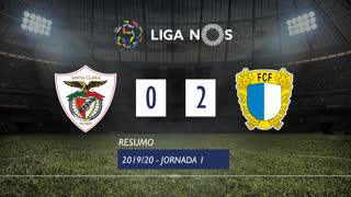 Liga NOS (1ªJ): Resumo Santa Clara 0-2 FC Famalicão