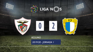 I Liga (1ªJ): Resumo Santa Clara 0-2 FC Famalicão