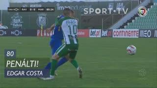 Marítimo M., Penálti, Edgar Costa aos 80'