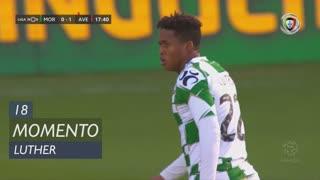 Moreirense FC, Jogada, Luther aos 18'