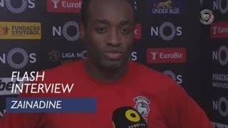 Liga (18ª): Flash Interview Zainadine