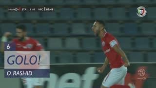 GOLO! Santa Clara, O. Rashid aos 6', Santa Clara 1-0 Vitória FC