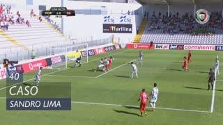 Gil Vicente FC, Caso, Sandro Lima aos 40'