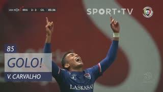 GOLO! Gil Vicente FC, Vitor Carvalho aos 85', SC Braga 2-2 Gil Vicente FC