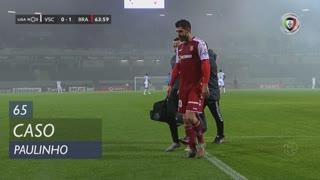 SC Braga, Caso, Paulinho aos 65'