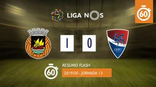 Liga NOS (13ªJ): Resumo Flash Rio Ave FC 1-0 Gil Vicente FC