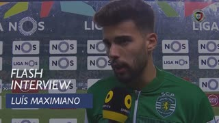 Liga (15ª): Flash Interview Luís Maximiano