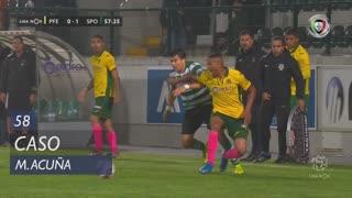 Sporting CP, Caso, M. Acuña aos 58'
